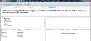 FileZilla FTP Login