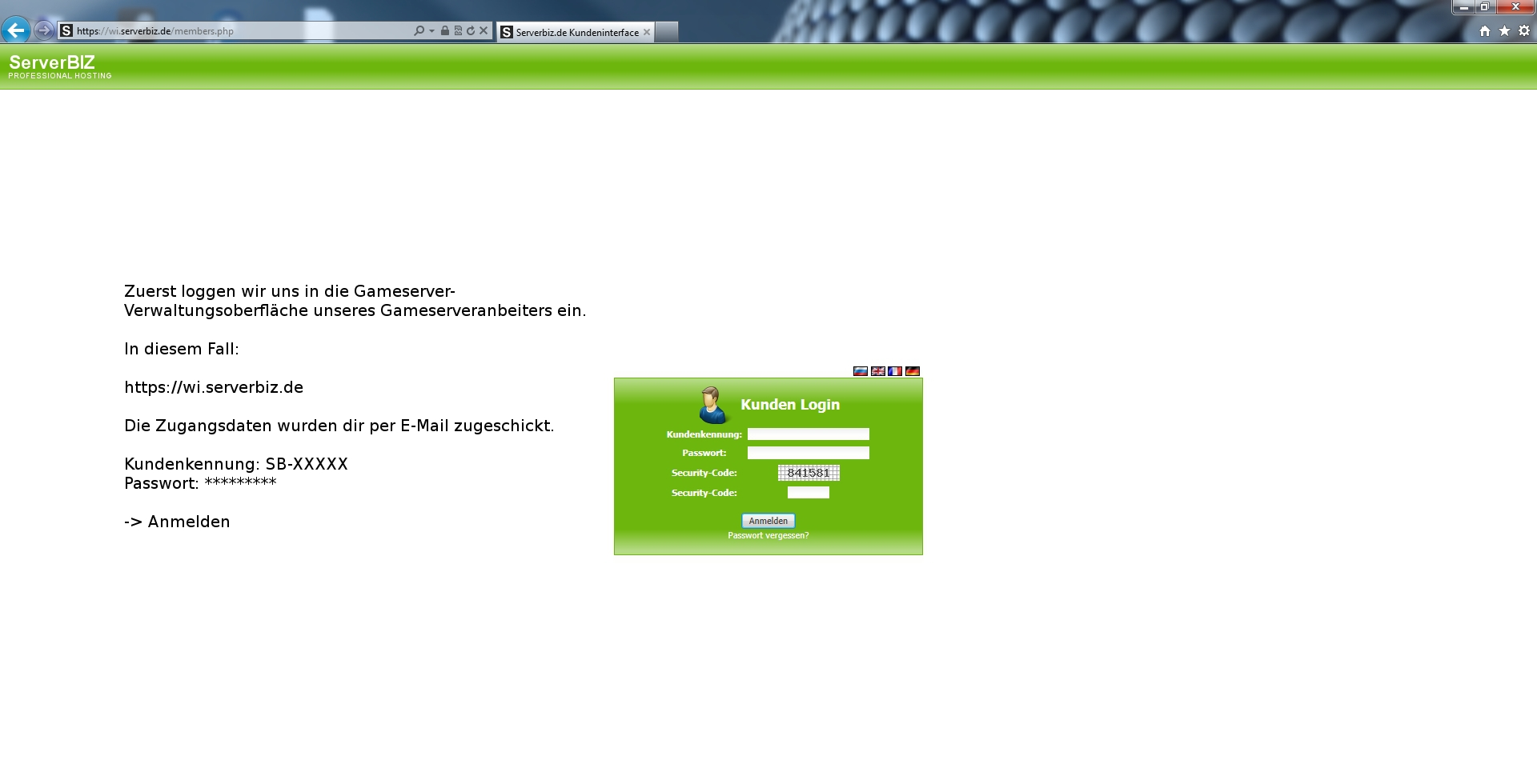 Minecraft Server Bukkit Installieren TekLab WI SERVERBIZ - Minecraft server erstellen vserver